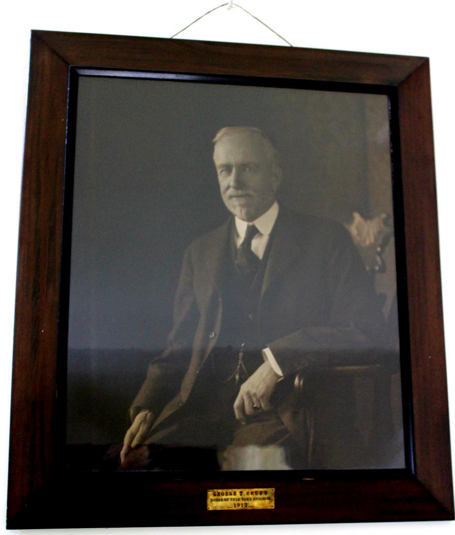 George T Cruft - Bethlehem New Hampshire Town Hall Donator