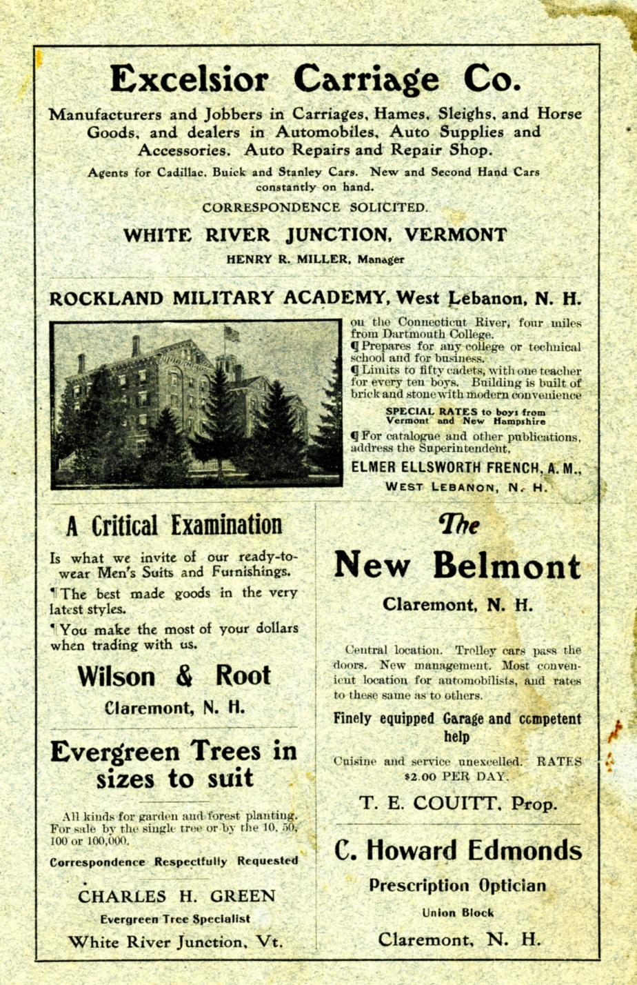 Granite Monthly May 1908 - Claremont New Hampshire