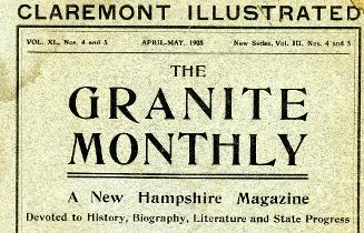 Claremont New Hampshire Illustrated - 1908