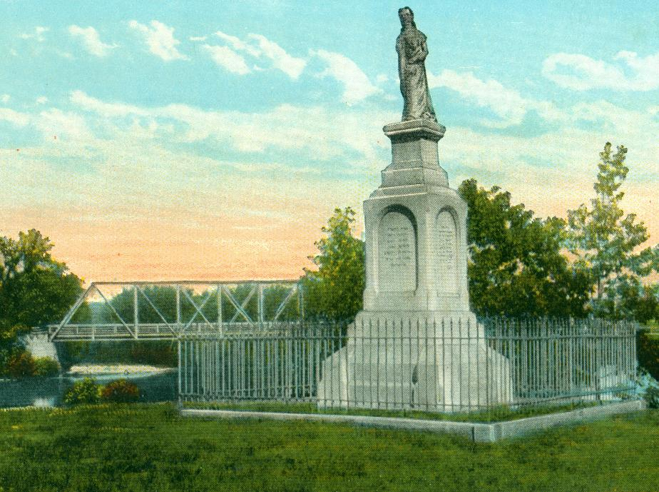 Hannah Dustin Memorial, Penacook NH 1930