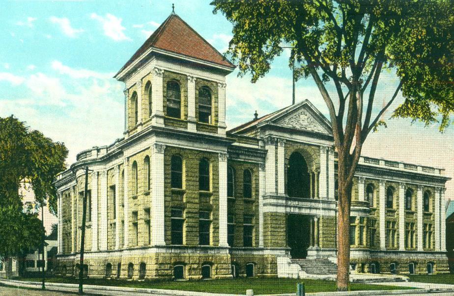 NH State Library, Concord NH 1930