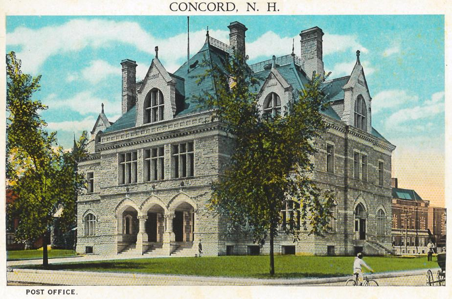 Post Office, Concord NH 1930
