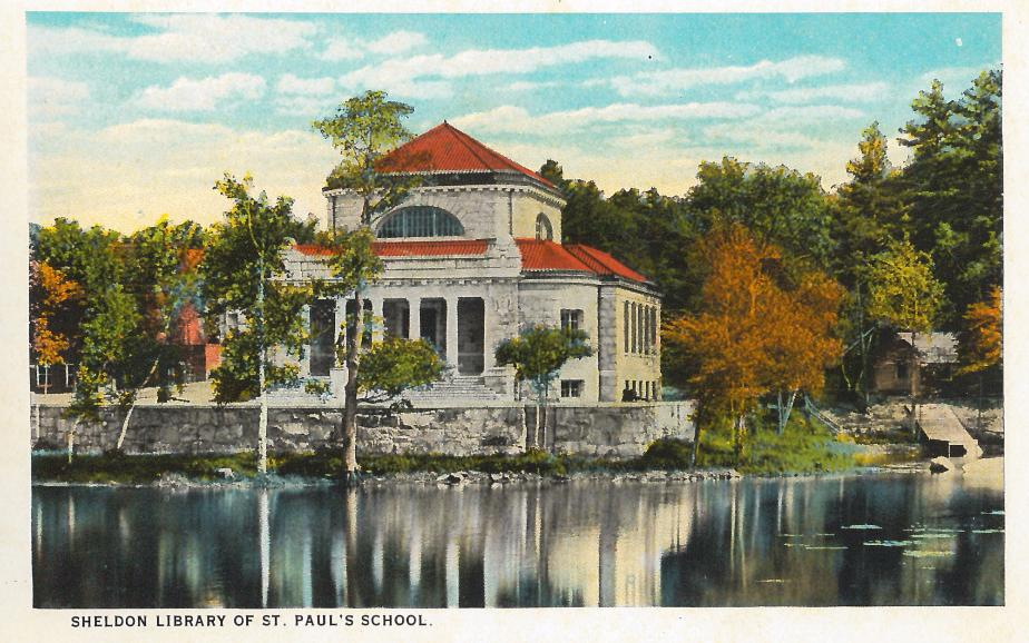 Sheldon Library - St. Paul's School Concord NH 1930