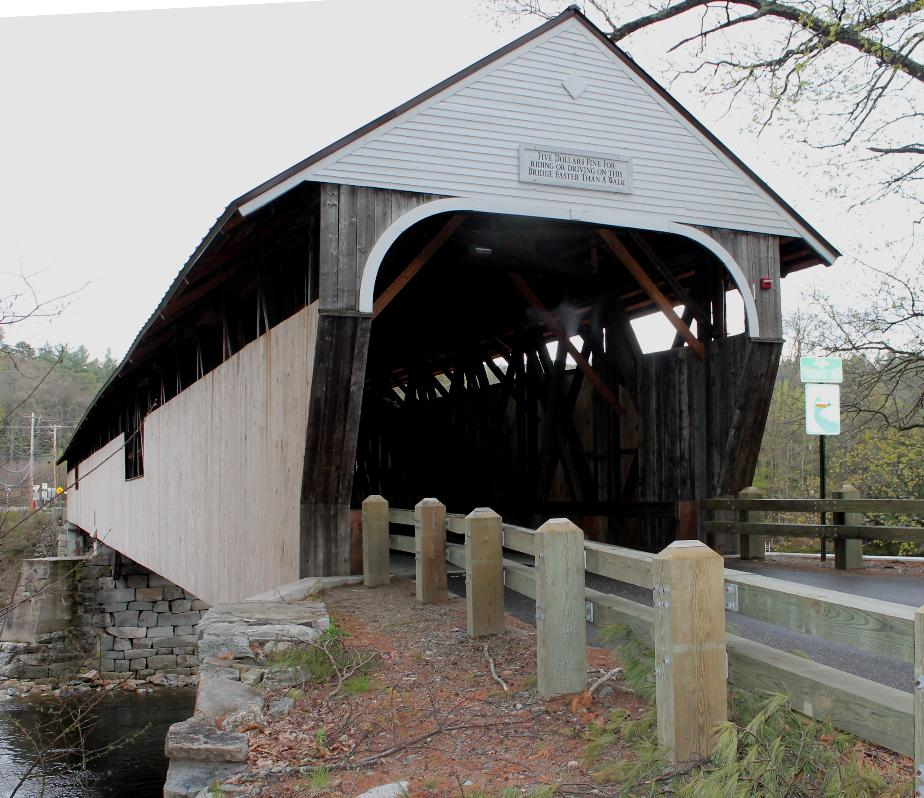 Blair Covered Bridge, Campton New Hampshire