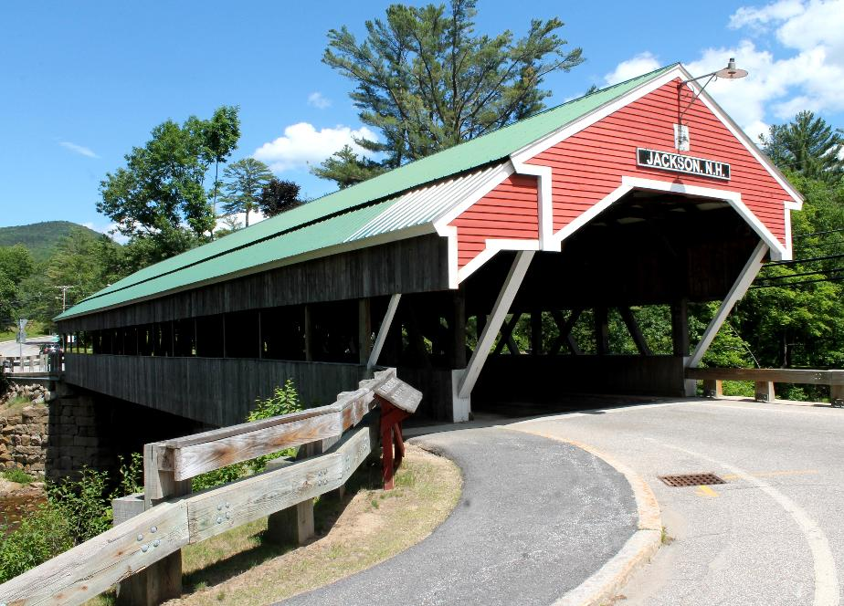 Jackson New Hampshire Covered Bridge