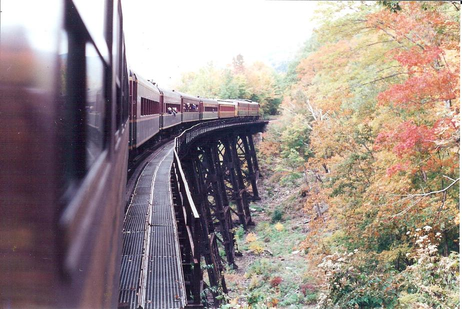 Crawford Notch, Conway Scenic Railroad