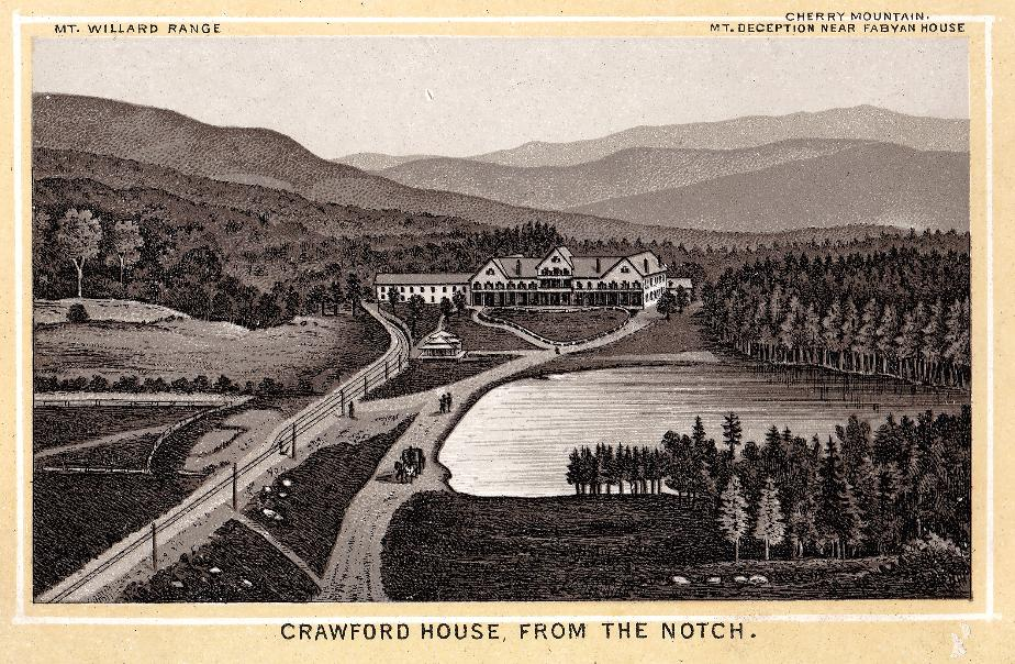 The Crawford House from Crawford Notch
