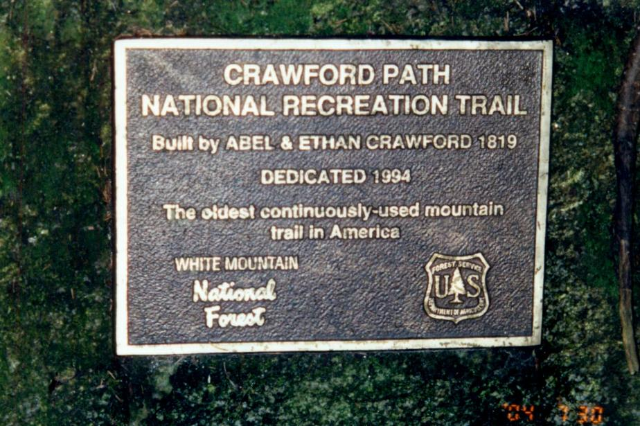 Crawford Path Sign