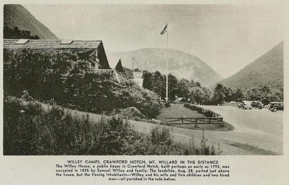 Willey House Camp, Crawford Notch