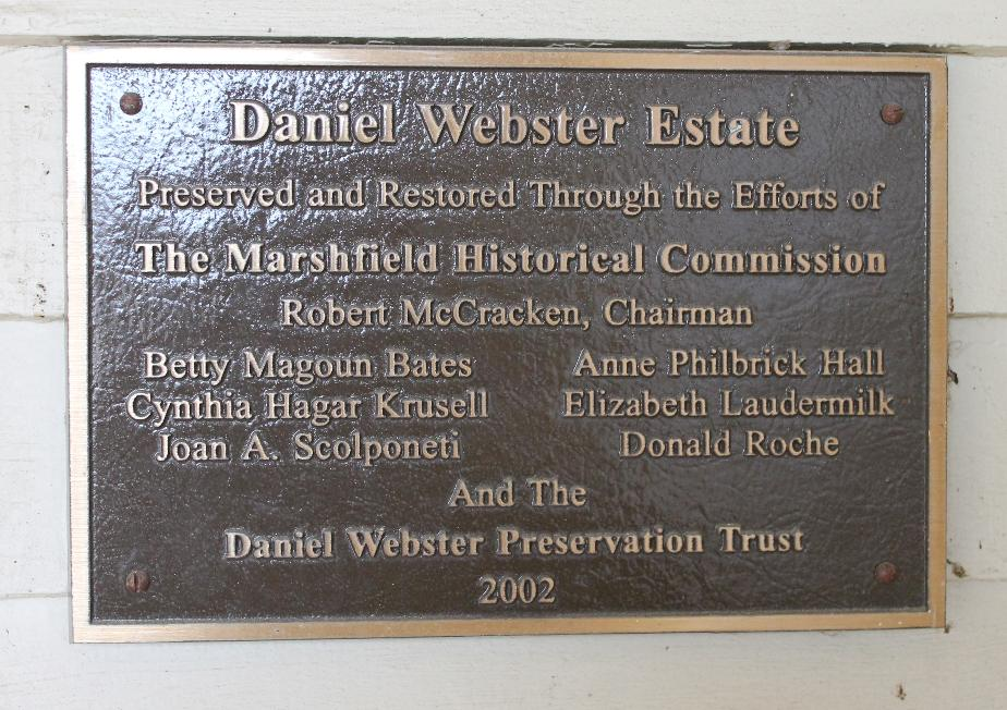 Daniel Webster Estate - Marshfield Massachusetts