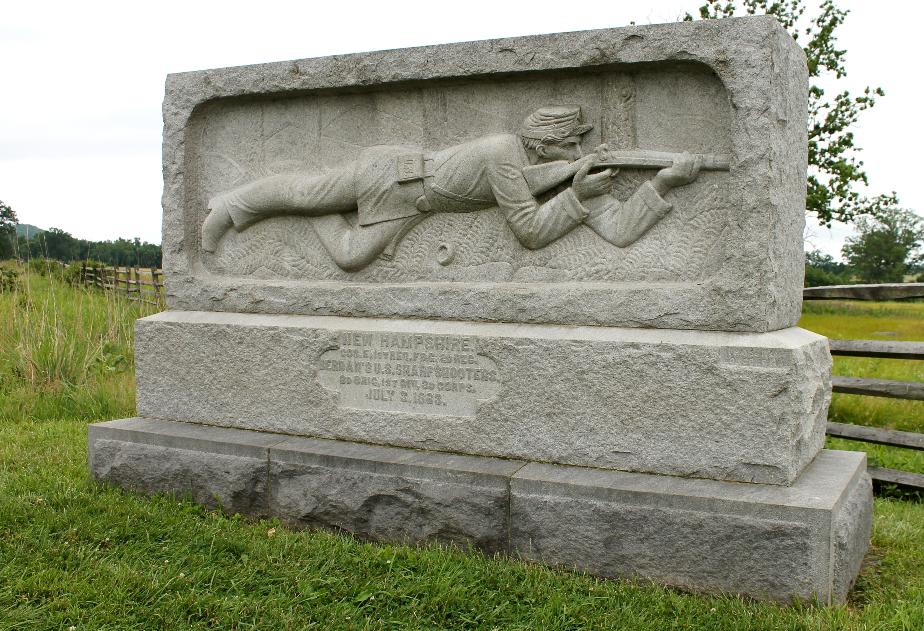 New Hampshire Sharp Shooters Monument, Gettysburg