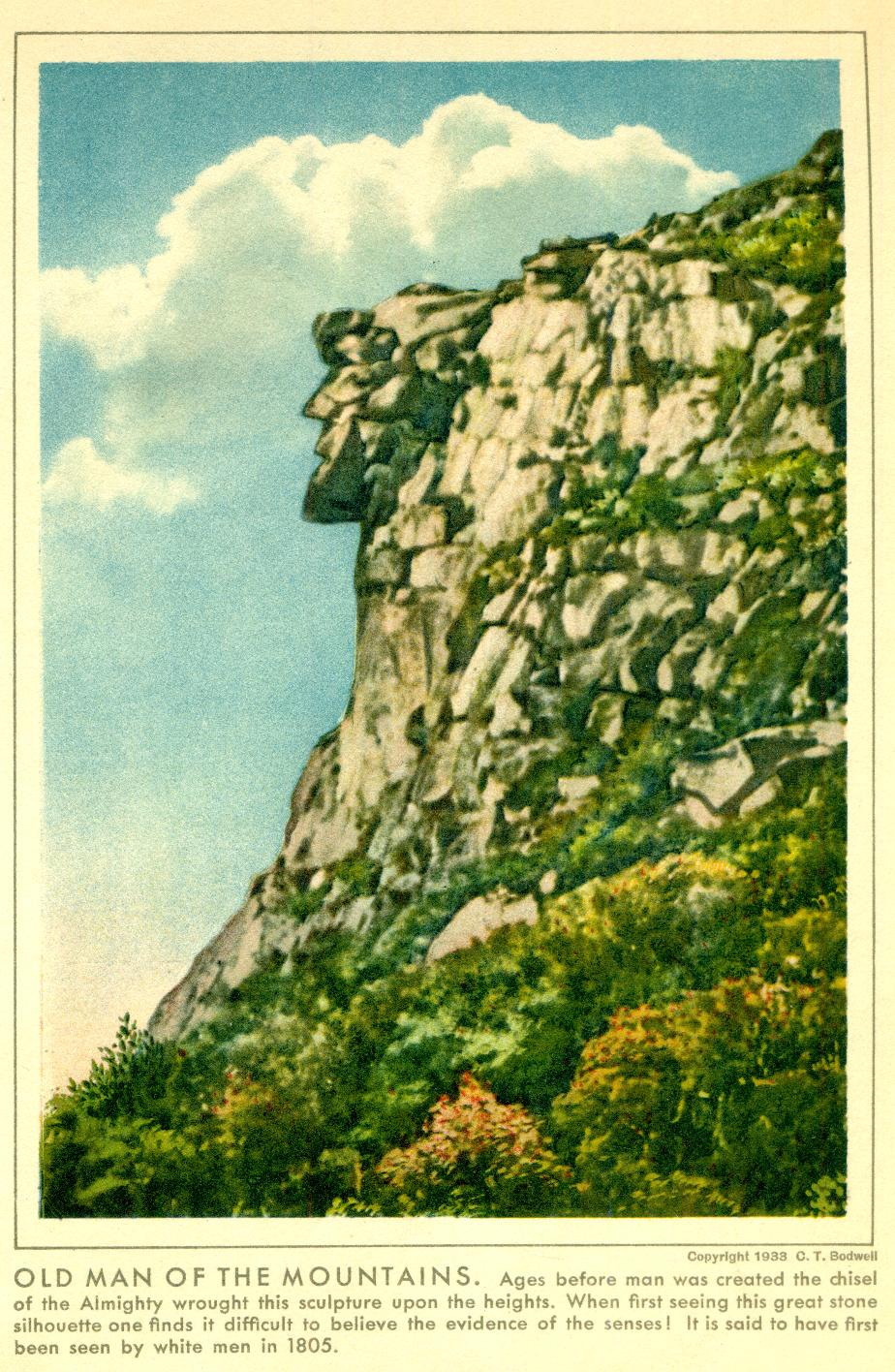 Old Man of the Mountain - 1933