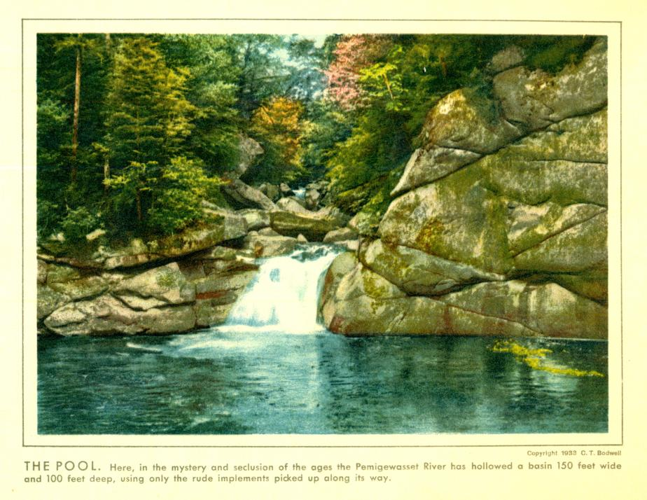 The Pool - Franconia Notch State Park 1933