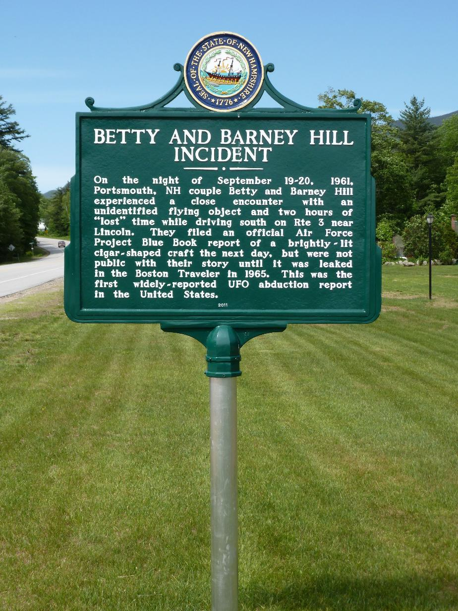Betty and Barney Hill UFO Incident