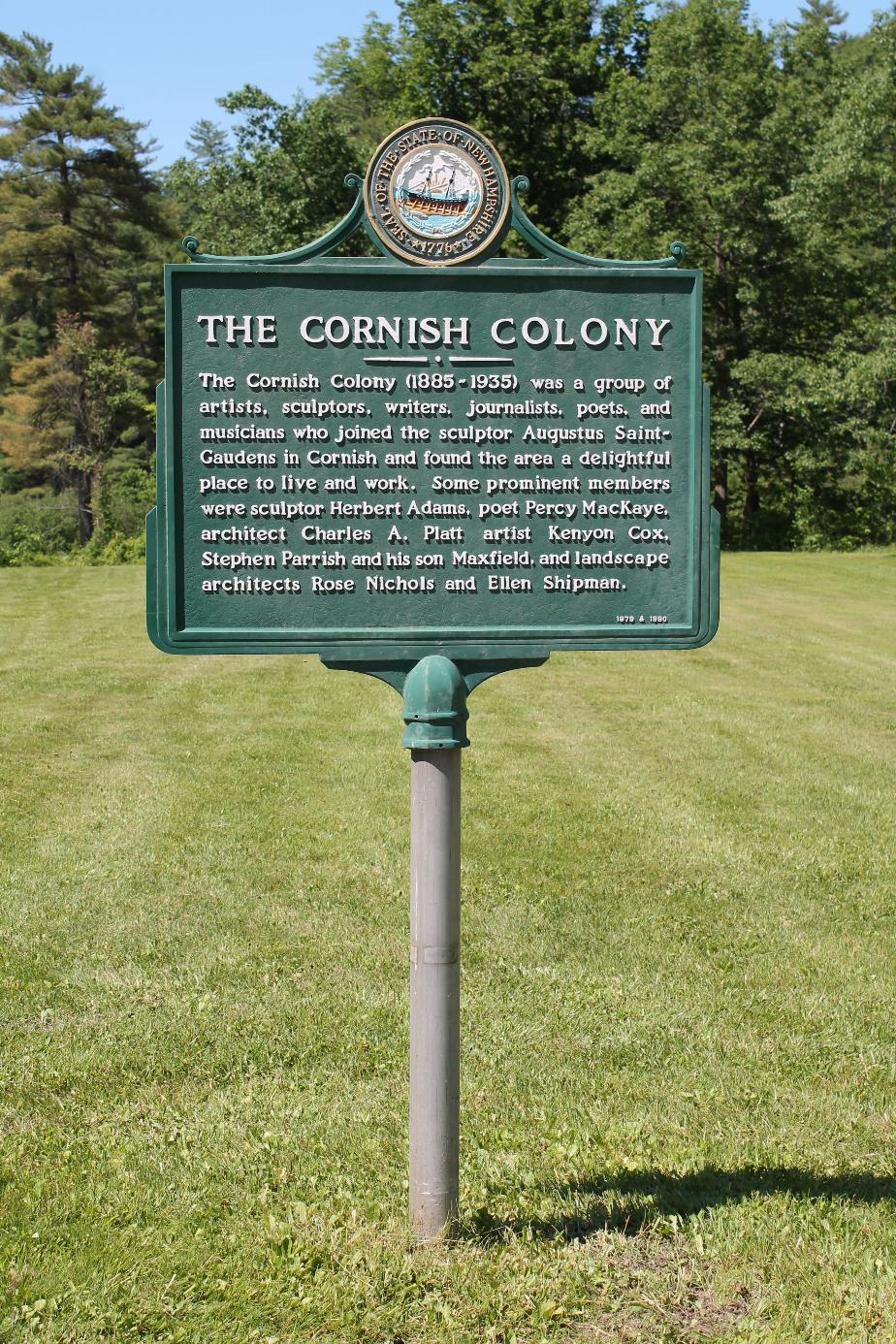 Cornish Colony Historical Marker