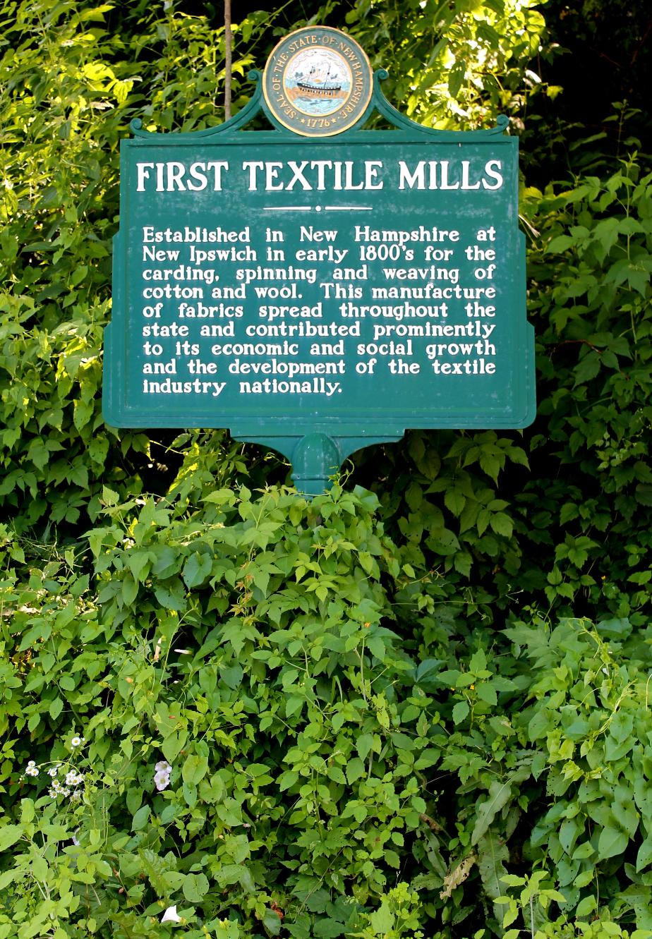 First Textile Mills - New Ipswich New Hampshire