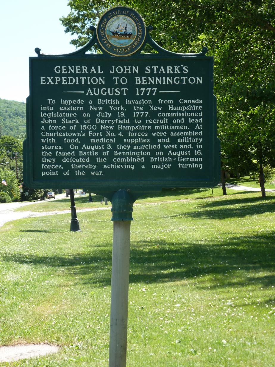 General John Stark Expedition to Bennington Historical Marker