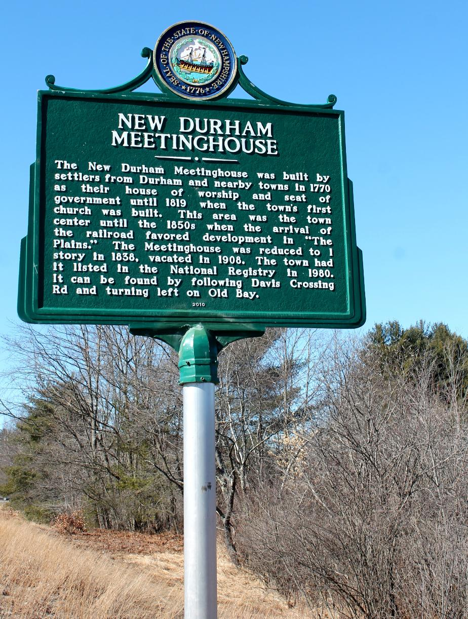 New Durham Meeting House - New Durham NH