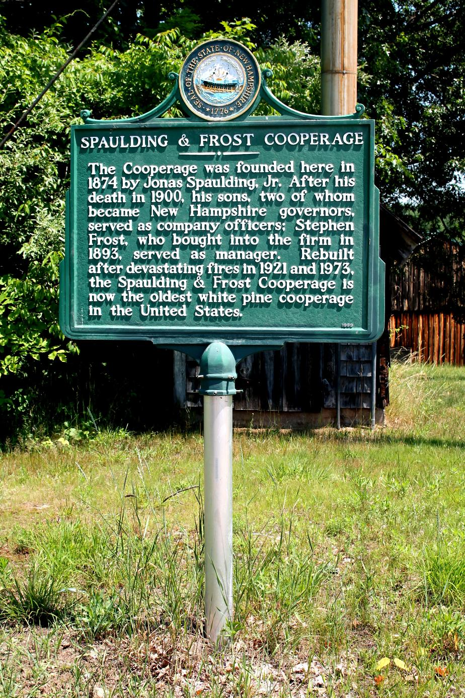 Spaulding & Frost Cooperage - Fremont New Hampshire