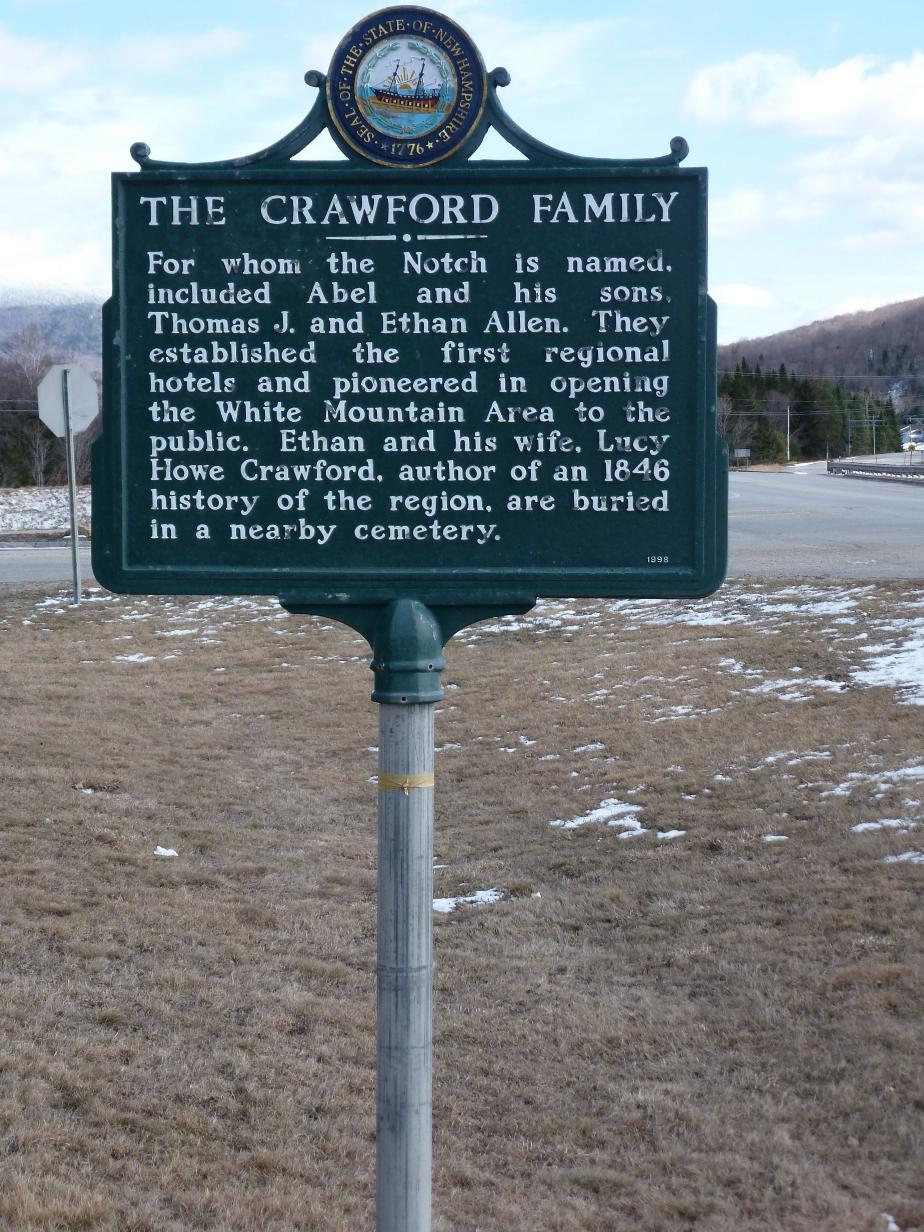 Crawford Family Historical Marker