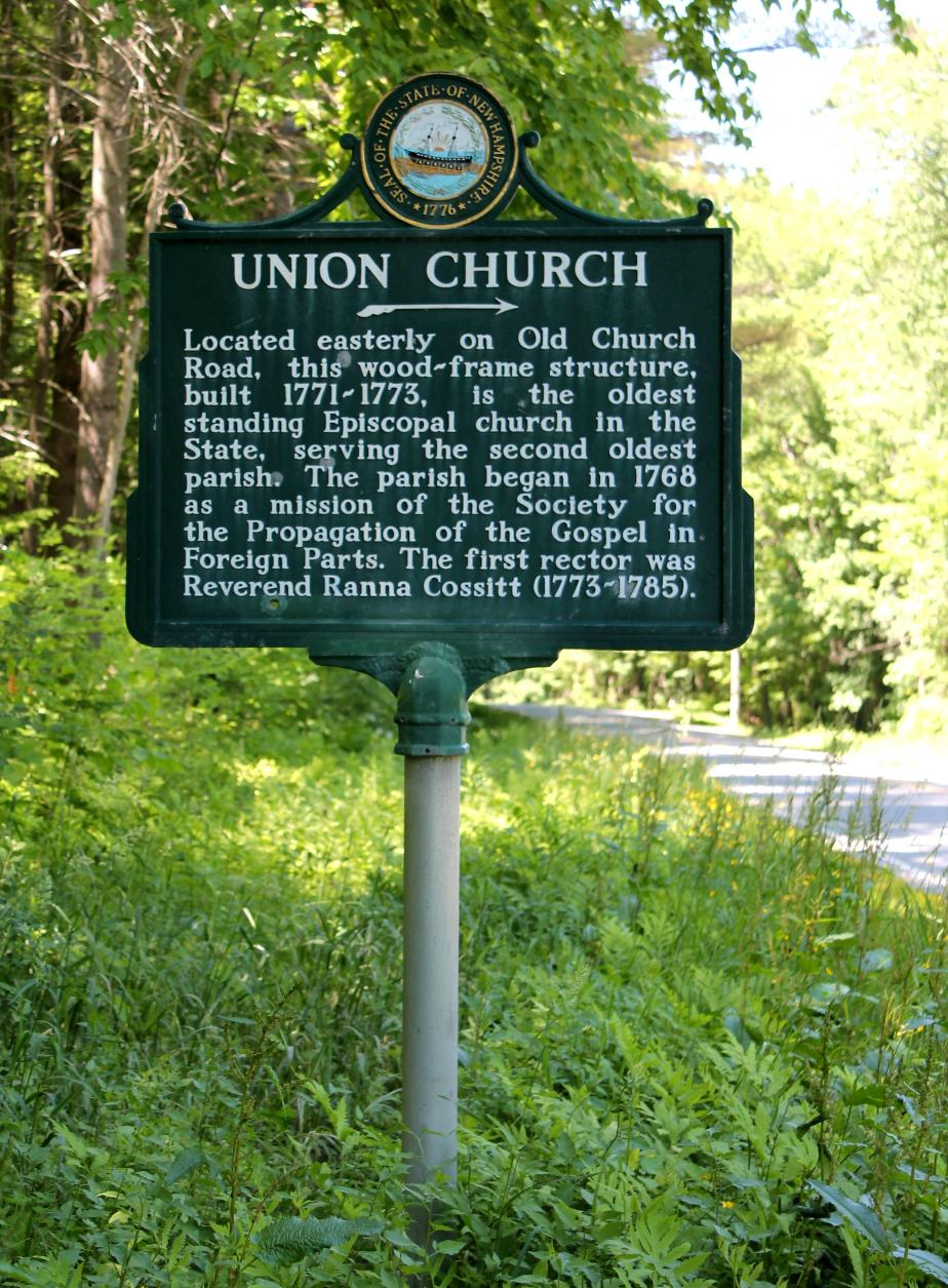 Union Church Historical Marker