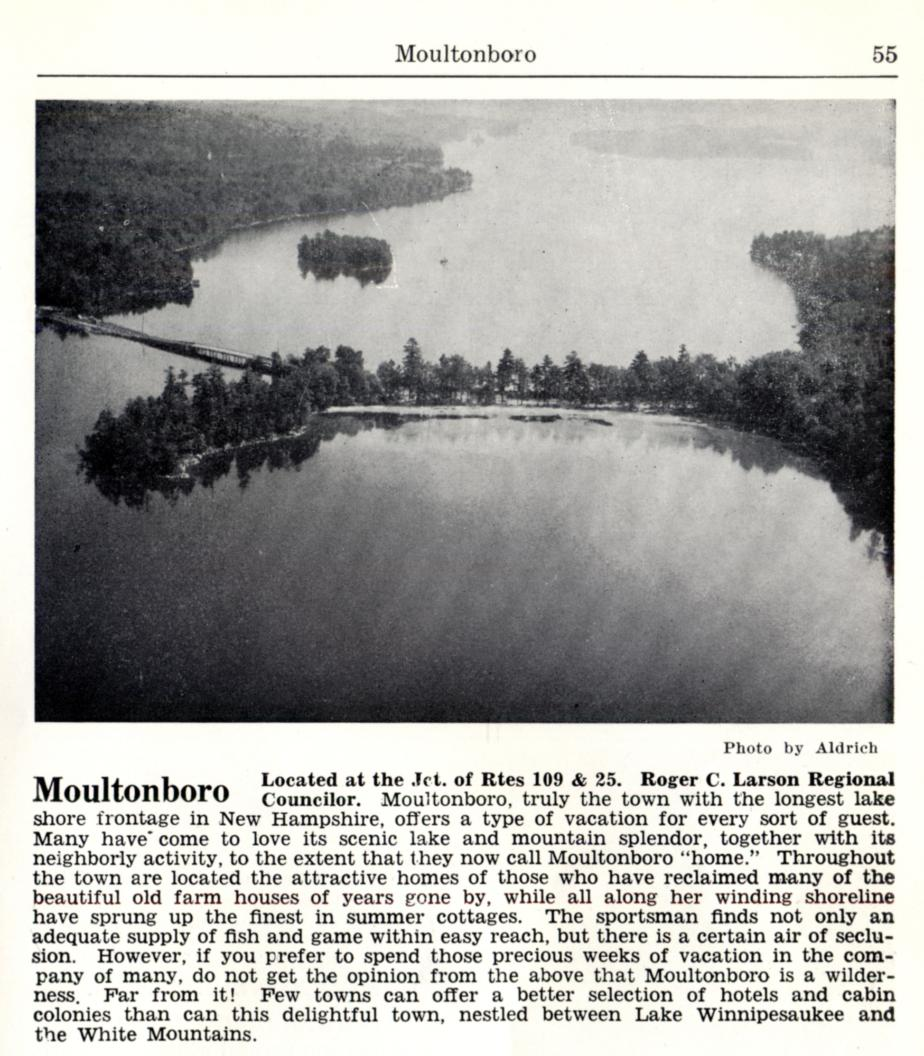 Moultonborough New Hampshire Visitors Guide