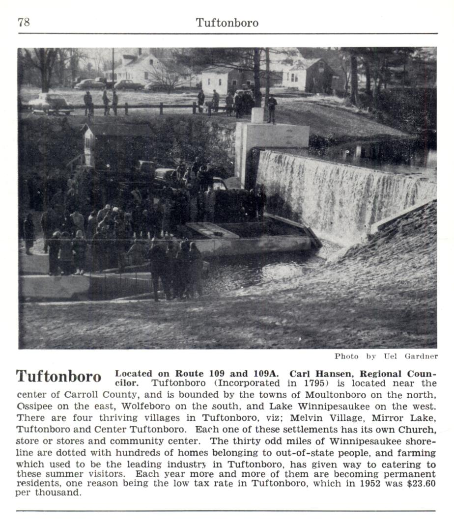 Tuftonborough Lakes Region Visitors Guide
