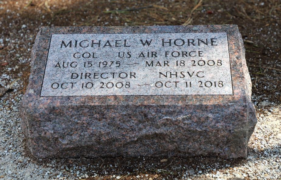 NH State Veterans Cemetery Monument #19 Michael W Horne Director