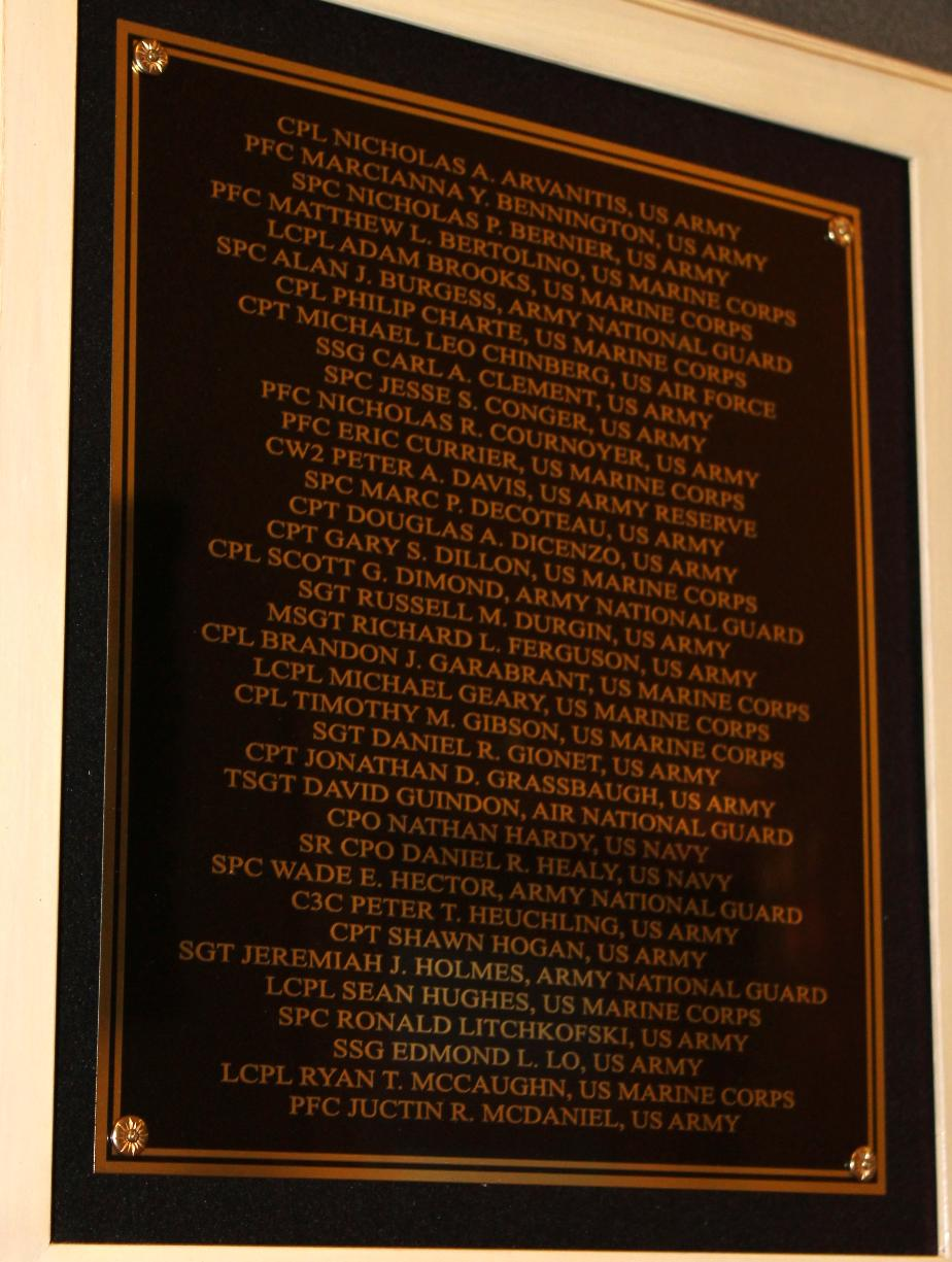NH Medal of Honor List