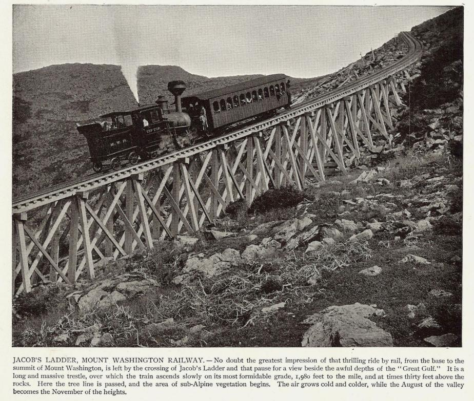 Jacob's Ladder, Cog Railway