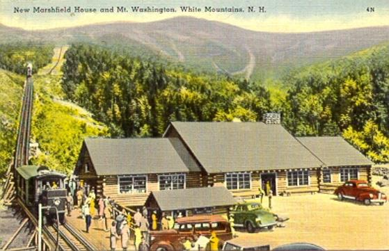 Marshfield Station, Cog Railway