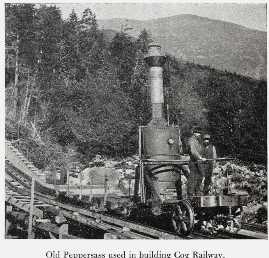 Old Peppersass, Cog Railway