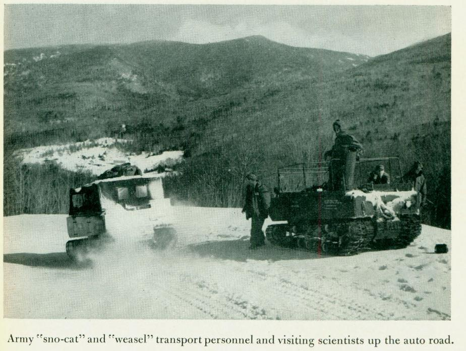 Snow Cat on Mount Washington