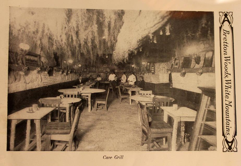 The Cave Grill, Mount Washington Hotel, Bretton Woods NH