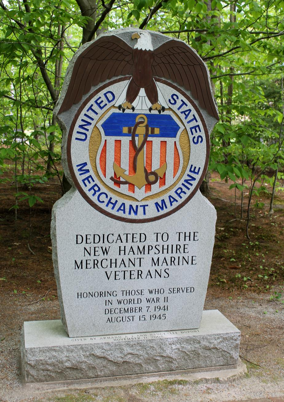 NH State Veterans Cemetery - United States Merchant Marine Memorial