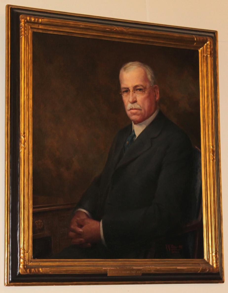 Albert O Brown State House Portrait