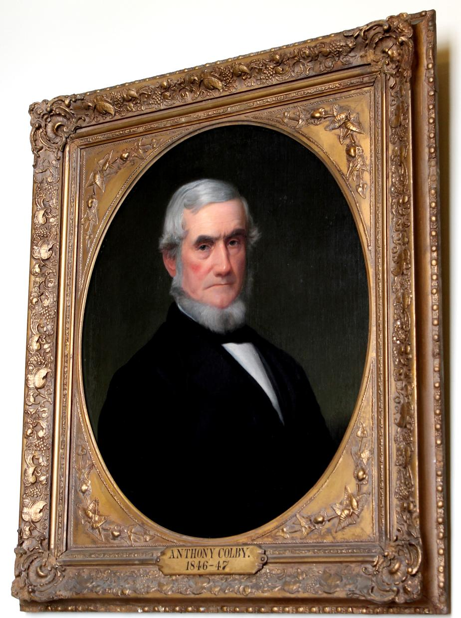 Governor Anthony Colby 1846 - 1847 NH State House Portrait