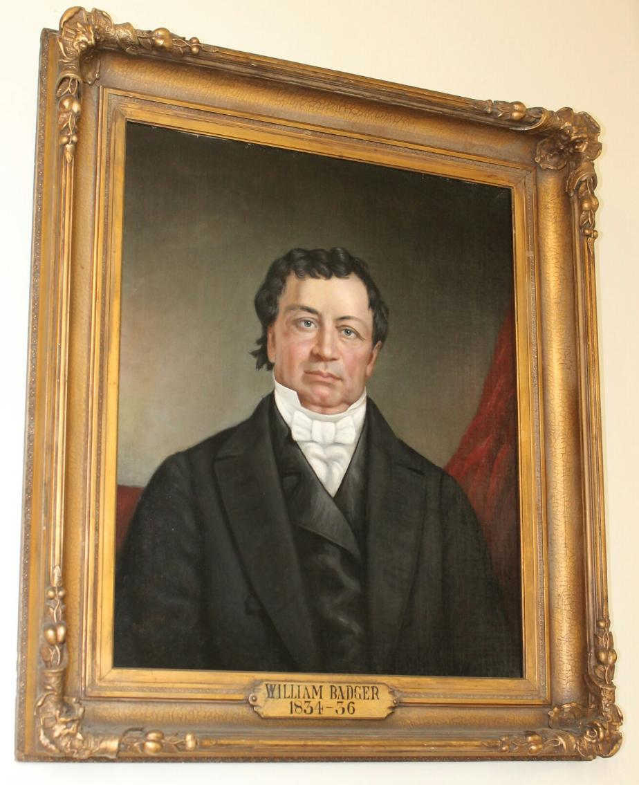 Governor William Badger, NH State House Portrait