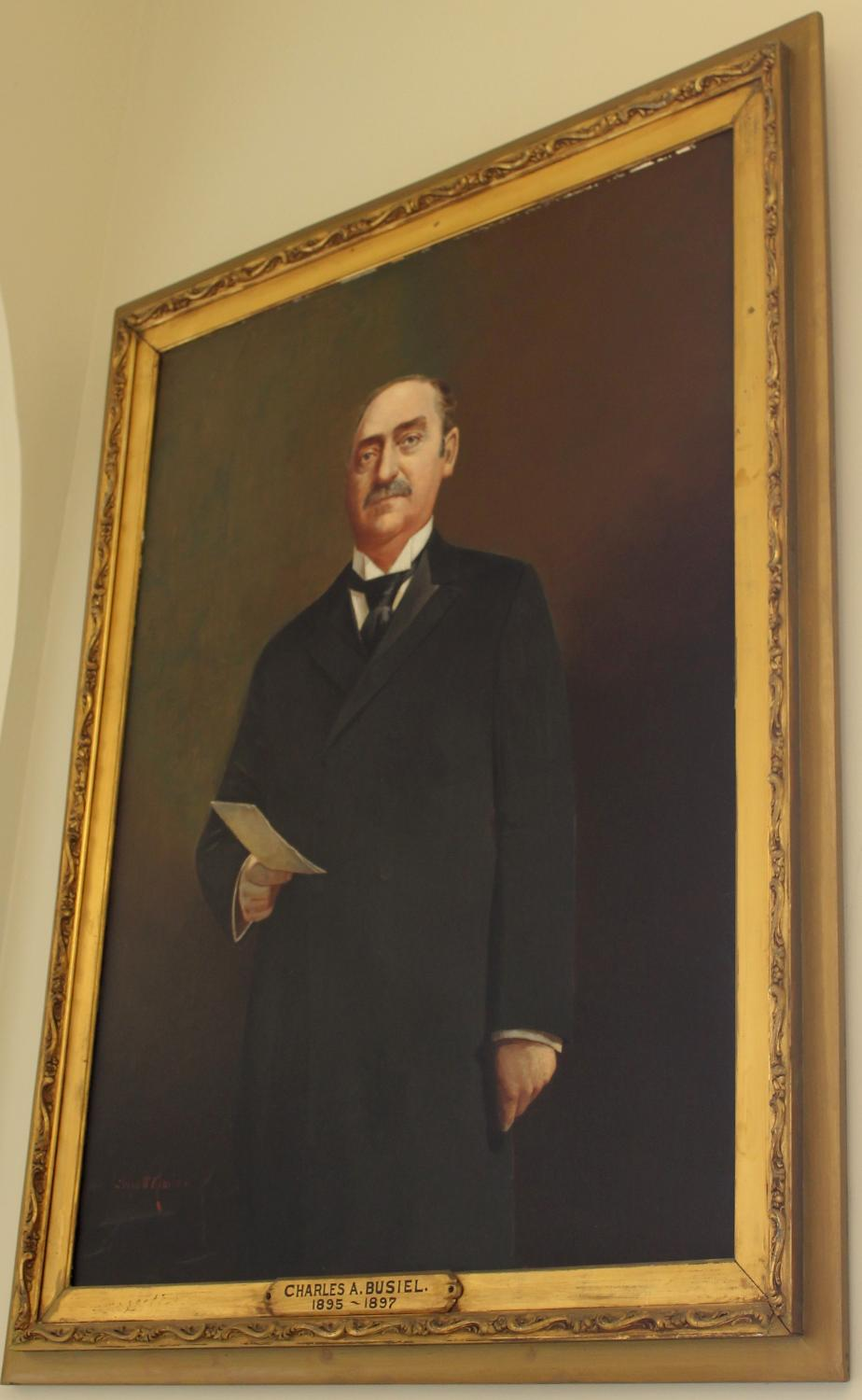 Governor Charles Busiel NH State House Portrait