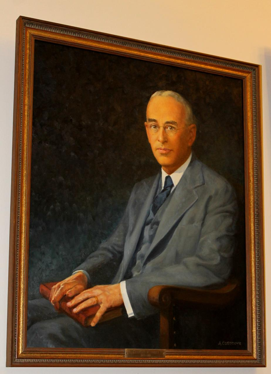 Charles W Tobey NH State House Portrait