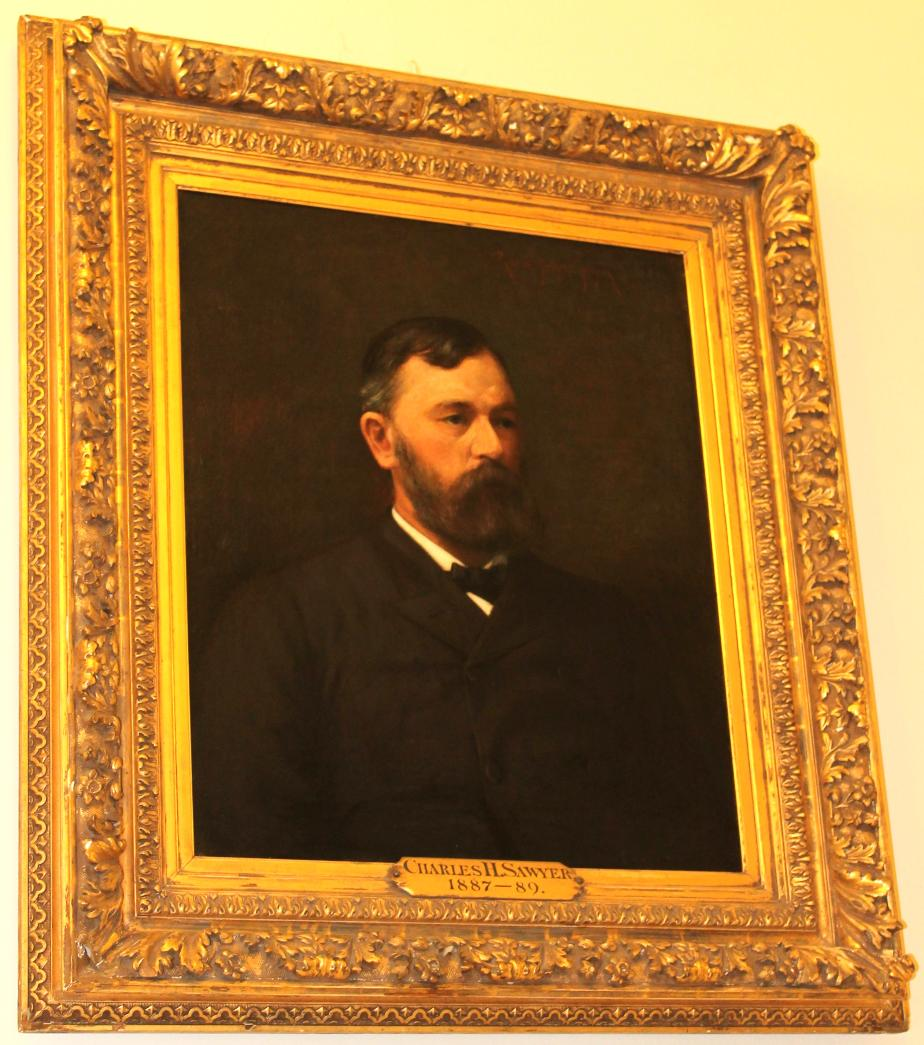 Governor Chsarles H Sawyer NH State House Portrait