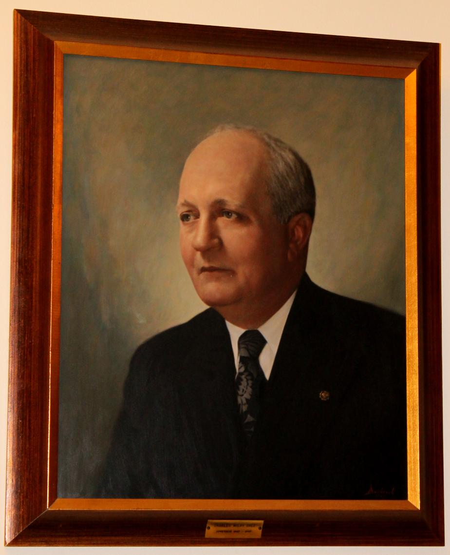 Governor Charles M Dale NH State House Portrait