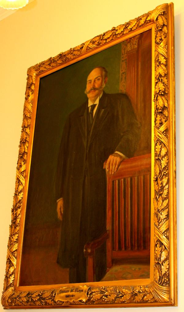 Charles M Floyd NH State House Portrait