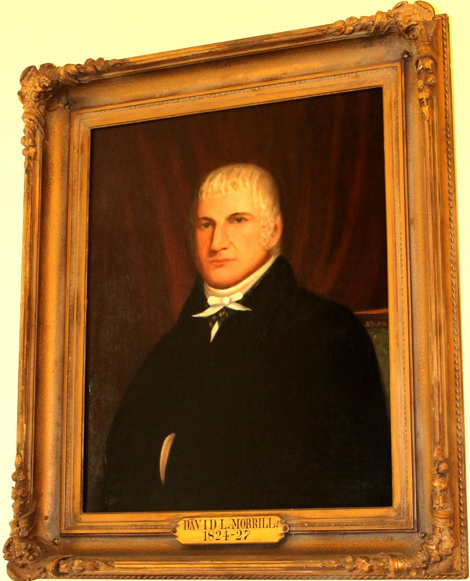 Governor David Morril 1824 - 1827 NH State House Portrait