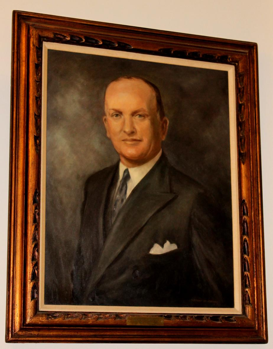 Francis P Murphy Nh State House Portrait