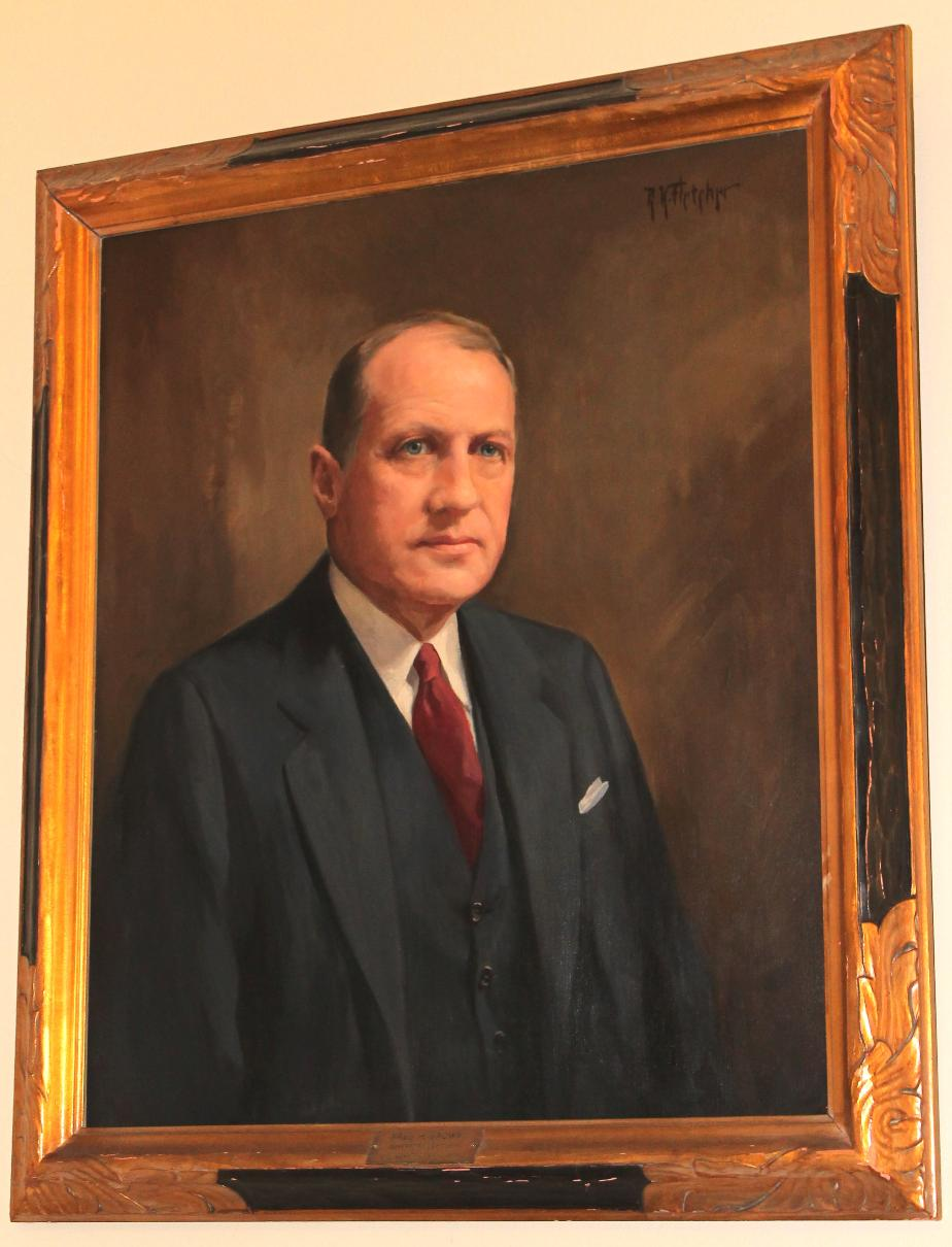 Governor Fred H Brown NH State House Portrait