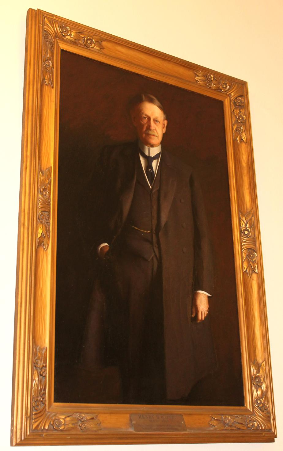 Henry B Quinby NH State House Portrait