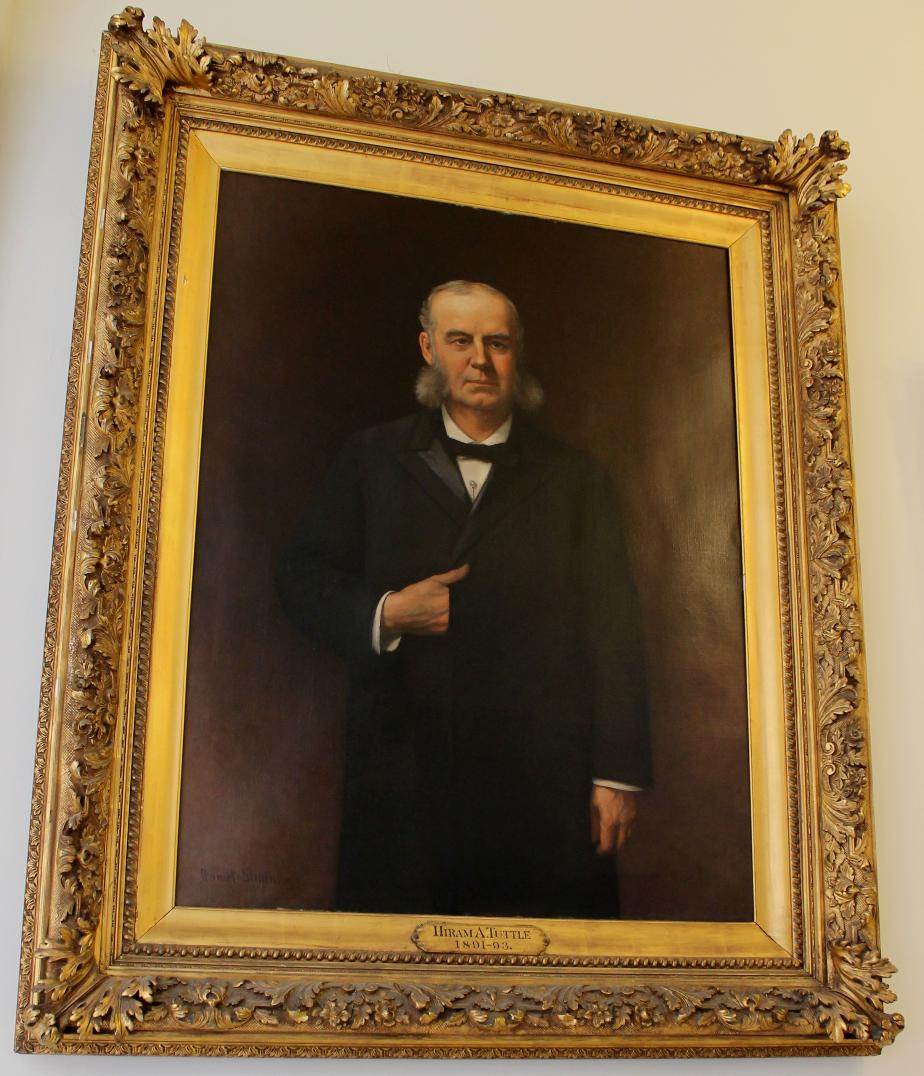 Governor Hiram Tuttle NH State House Portrait