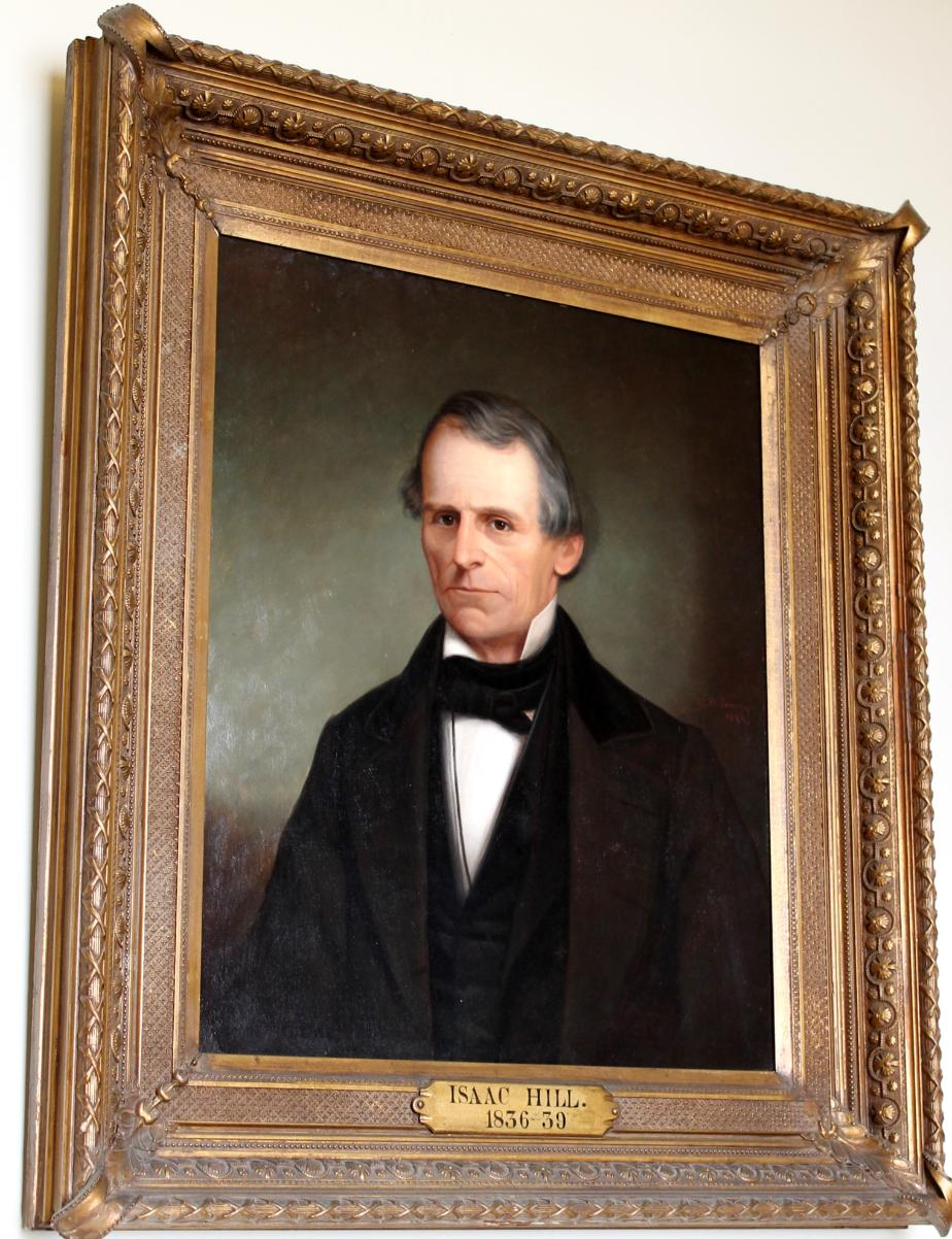 Governor Isaac Hill NH State House Portrait