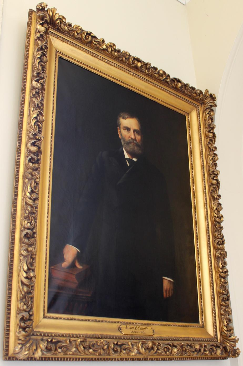Governor John Butler Smith NH State House Portrait